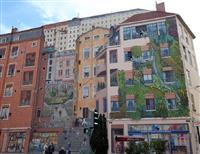 Quatre balades urbaines dans Lyon