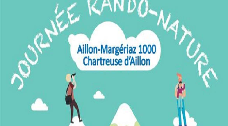 Rando'nature le 8 juin à Aillon
