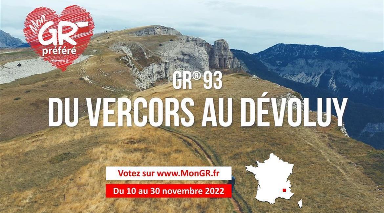 Mon GR® Préféré - Votez pour les GR® d'Auvergne-Rhône-Alpes !