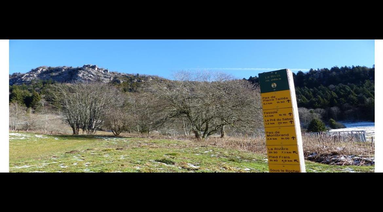 Un week-end de randonnée sans voiture dans le Vercors