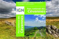La carte des Cévennes lance la nouvelle collection IGN « Découverte des Parcs nationaux ».