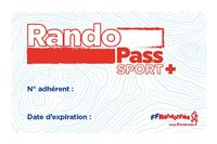 Un nouveau titre d'adhésion à la FFRandonnée : le RandoPass® Sport + !