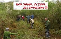 Opération Mon chemin, j'y tiens, je l'entretiens dans la Loire