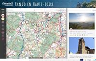Le portail des randonnées de  Haute Loire